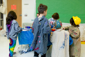 Camp Limmud painting